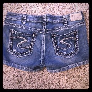 Great condition Silver jeans shorts